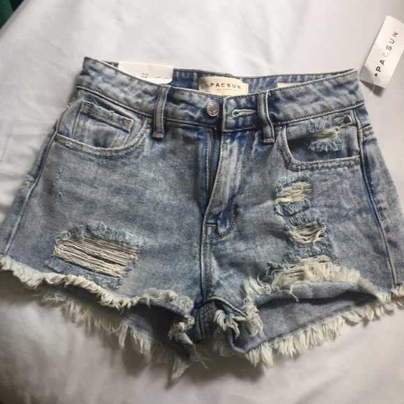 PacSun Pants - High rise shorts from Pacsun size 22. No stretch